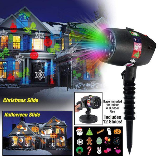 Bán sỉ Đèn trang trí Slide Shower 12 bản trình chiếu thế hệ mới