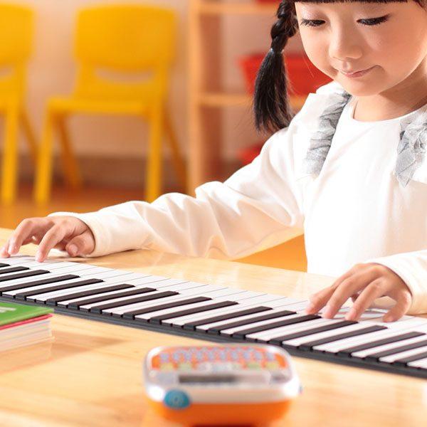 Đàn piano điện tử uốn dẻo cho bé