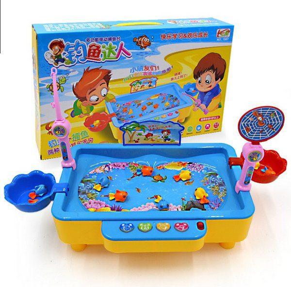 Bán buôn Bộ đồ chơi câu cá điện tử có nhạc cho bé
